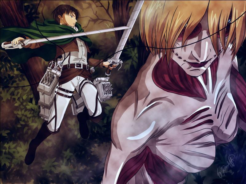 """Un combat dans """"Shingeki no Kyojin"""" ! Quel est ce combat ?"""