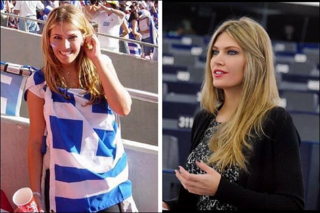Éva Kaïlí exerçait un autre métier avant d'être élue du parti démocrate grec. Lequel ?