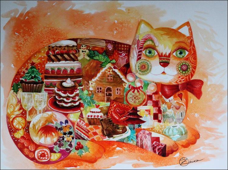 Quelle fête est représentée sur cette peinture ?
