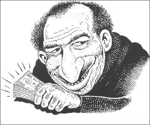 Comment étaient généralement représentés les Juifs selon les caricatures des XIXe et début XXe siècle ?