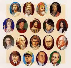 Chansons : Les personnages historiques (1)