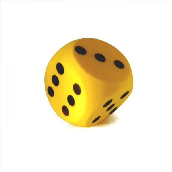 On commence par une question facile pour se mettre en jambe. On lance un dé à 6 faces que l'on suppose parfaitement équilibré. Quelle est la probabilité d'obtenir un 3 ?