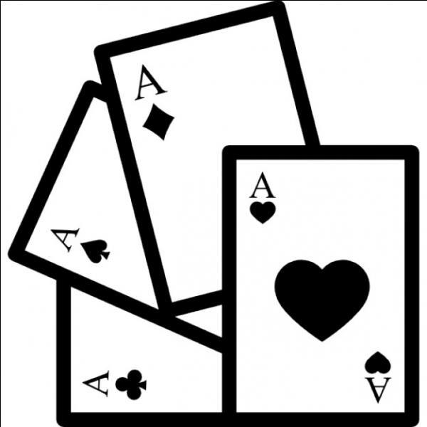 On tire au hasard une carte dans un paquet en contenant 52. Quelle est la probabilité d'obtenir un as noir ?