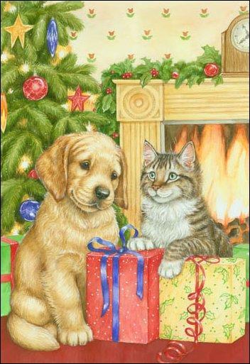 Que fêtent le chien et le chat ?