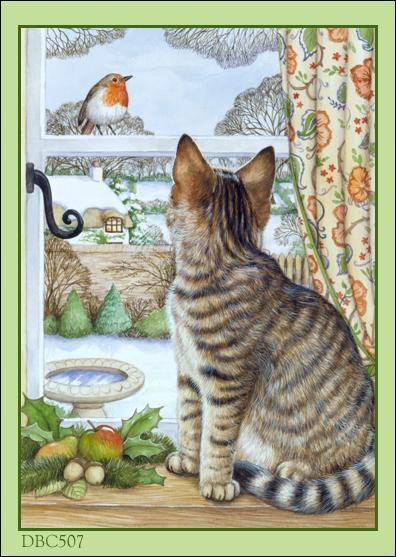 Que regarde le chat ?
