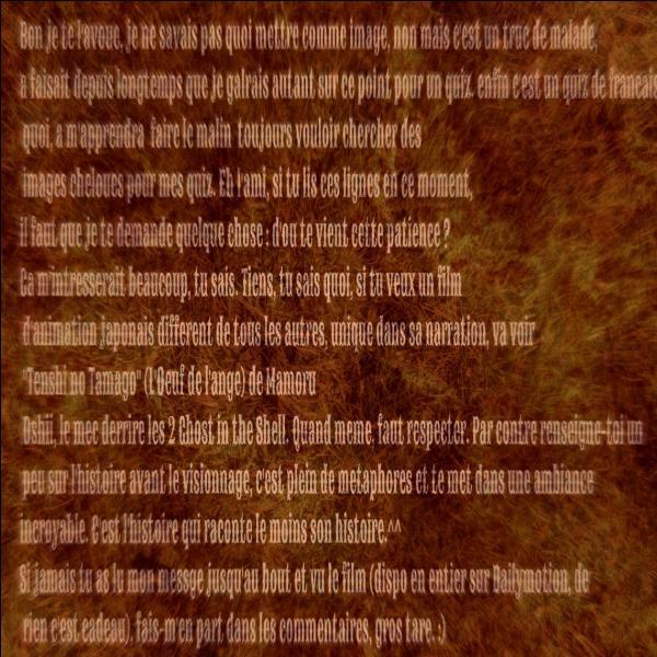C'est dommage mais la vie se rapproche moins de l'histoire des Bisounours que celle du conte de fée :