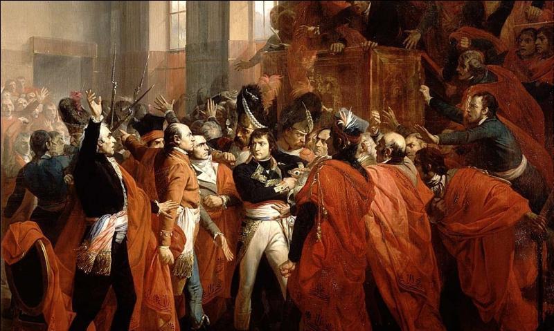 En 1799, quel régime instaure-t-il en France après le coup d'État du 18 brumaire ?