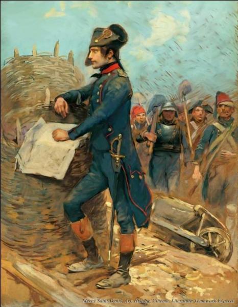 Devant quelle ville française assiégée par les Anglais et leurs alliés s'illustra-t-il en 1793 ?