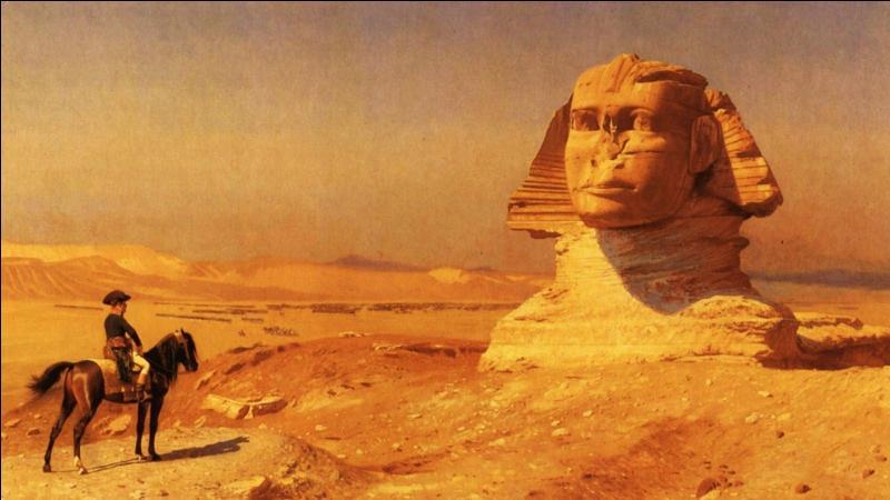 Quel était le but principal de l'expédition française en Égypte commandée par Napoléon ? (2 réponses possibles)