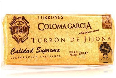 Il n'y a de vrai que le touron de Jijona ! De quoi cette spécialité d'Alicante est-elle faite ?