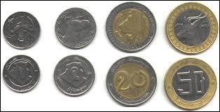 Monnaie du pays où vous pouvez allez à Alger, Oran, Béjaïa, Annaba, Tamanrasset..., c'est celle de l' / du / de la :
