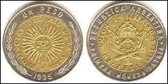 Monnaie du pays dont la capitale est Buenos Aires, c'est celle de la / du / de l' :