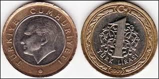 Monnaie du pays dont la capitale est Ankara, c'est celle de la :
