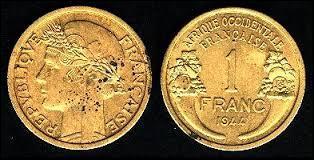 Monnaie du pays dont le président est Issoufou Mahamadou, c'est celle du :
