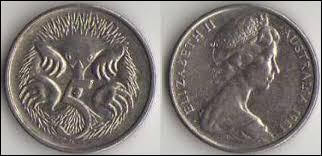 Monnaie du pays des kangourous, c'est sûrement celle de l' / du :