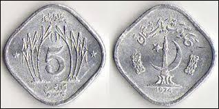 Monnaie du pays dont la capitale est Islamabad, c'est celle de l' / du :