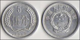 Monnaie dans le pays dont la capitale est Pékin, c'est celle de la / l' :