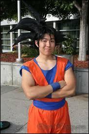Quel est ce cosplay de Dragon Ball Z ?