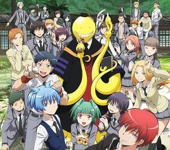 Assassination Classroom : les couples ❤