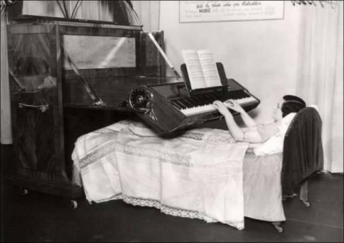 Voici un instrument de musique original et pas du tout encombrant, c'est le...
