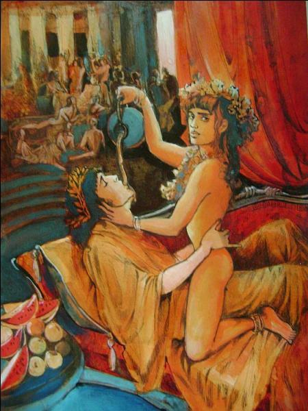 D'une grande beauté, ce prince troyen sera enlevé par Zeus pour en faire son compagnon et échanson : qui est-il ?