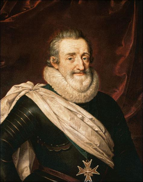 En quelle année fut assassiné Henri IV ?