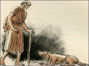 Comment s'appelait le chien d'Ulysse qui le reconnut immédiatement à son retour de la guerre de Troie ?