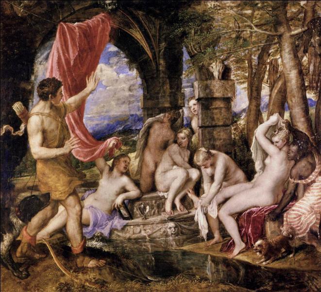 Quel chasseur ayant surpris Artémis nue au bain fut métamorphosée en cerf par la déesse ?