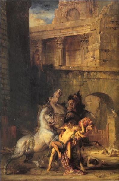 Quelle était la particularité des juments du roi Diomède ?