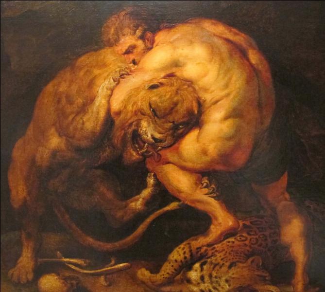 Lors de ses 12 travaux, quel animal Héraclès a-t-il tué ?