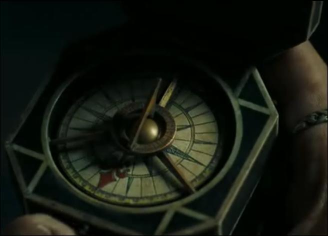 Pourquoi Jack a-t-il toujours son compas sur lui ?