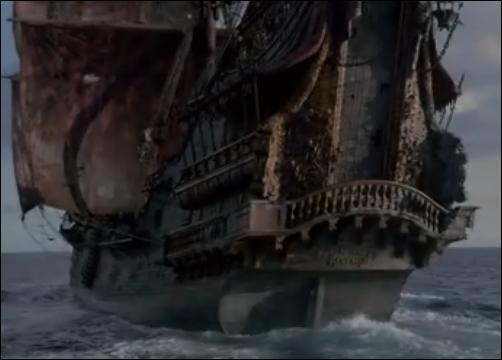 Quel est le nom du navire de Barbe Noire ?