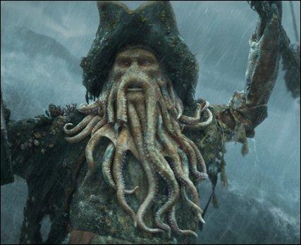 """Pourquoi Davy Jones est-il devenu """"tentaculeux"""" ?"""