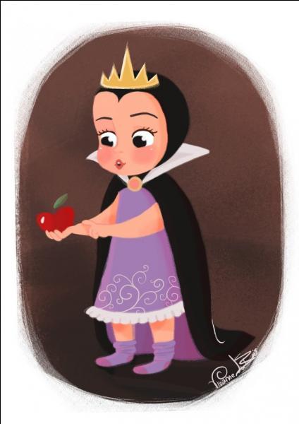 Moi, je veux deux cadeaux, une chose qui me parlera et qui dira que je suis belle et un fruit :