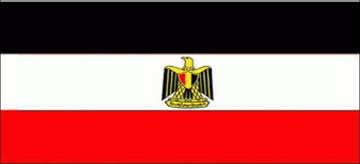 Que faut-il faire pour obtenir le drapeau de l'Égypte à partir de cette image ?