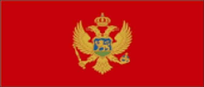 Que manque-t-il au drapeau du Monténégro sur cette image ?