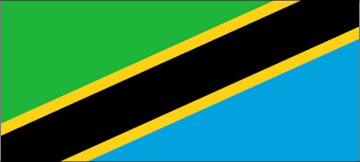Que faut-il faire à cette image pour retrouver le drapeau de la Tanzanie ?
