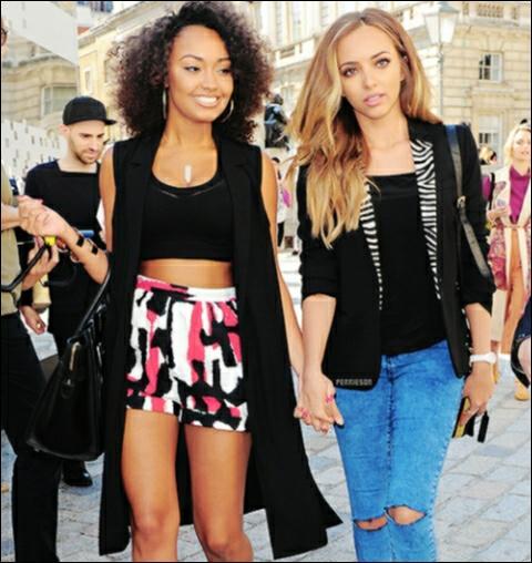 Et celui de Jade et Leigh Anne était :