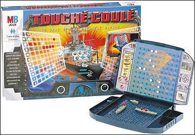 """Quel est le nom du jeu de société surnommé """"touché-coulé"""" ?"""