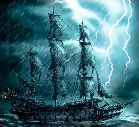 Comment s'appelle le plus célèbre vaisseau fantôme ?