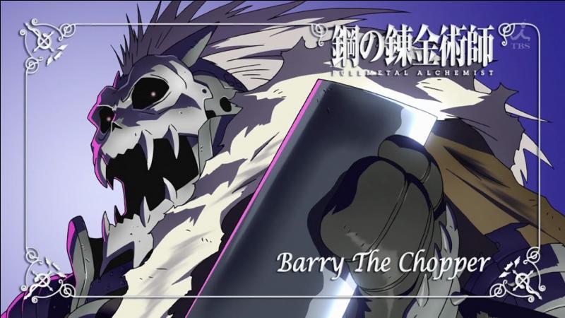 Par qui se fera tuer Barry/Numéro 66 ?
