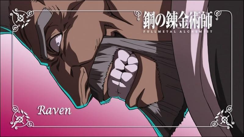 Dans le manga, à quel chapitre apparaît pour la première fois Raven ?