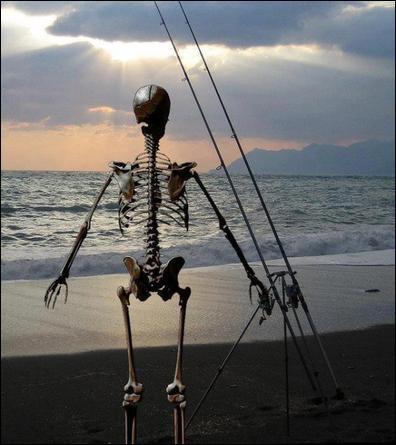 Pour être un bon pêcheur, il est une qualité indispensable !