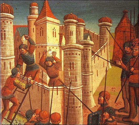 Laquelle de ces villes ne faisait pas partie de l'empire, lors de son apogée ?