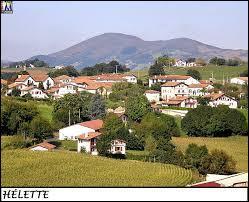 Je vous emmène à la découverte d'Hélette. Village basque, il se situe dans le département ...