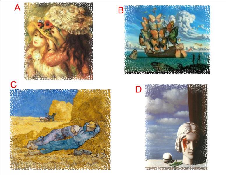 L'œuvre d'Auguste Renoir se trouve en :