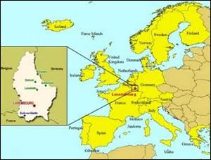 Dans quelle partie de l'Europe se situe le Luxembourg ?