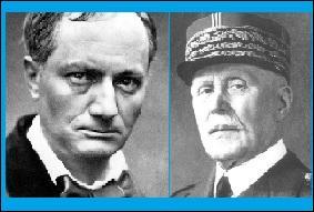 Charles Baudelaire a-t-il pu faire connaissance avec le Maréchal Pétain ?
