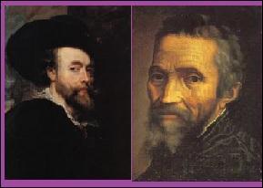 Pensez-vous que Rubens, peintre belge, aurait pu rencontrer Michel - Ange, peintre florentin ?