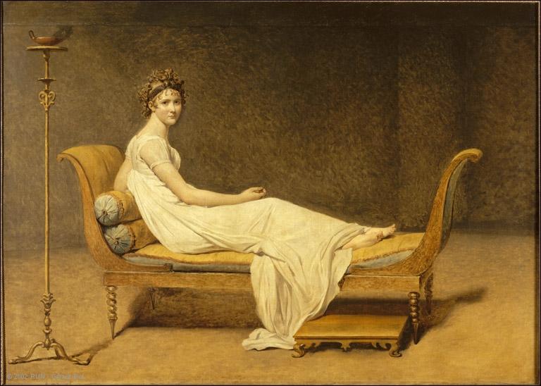 Quel était le prénom de Madame Récamier, qui tenait salon à Paris, dans la première moitié du XIXe siècle ?